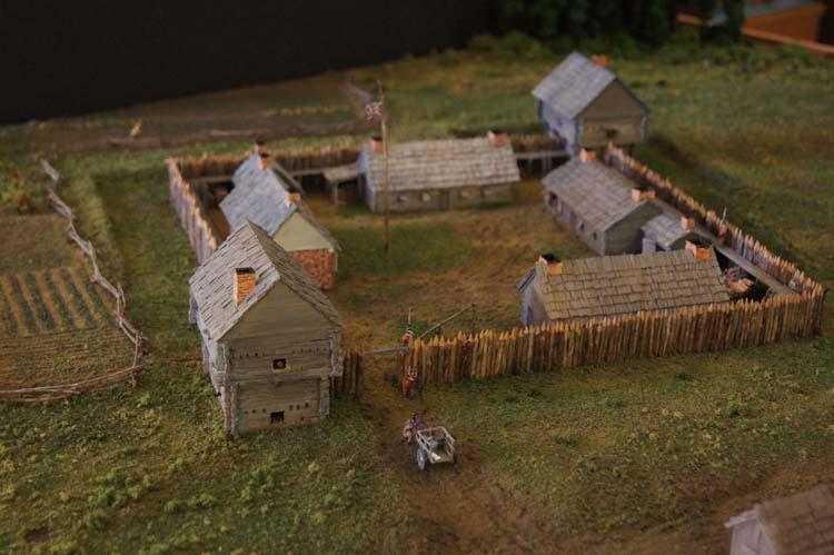 Fort Sinclair model