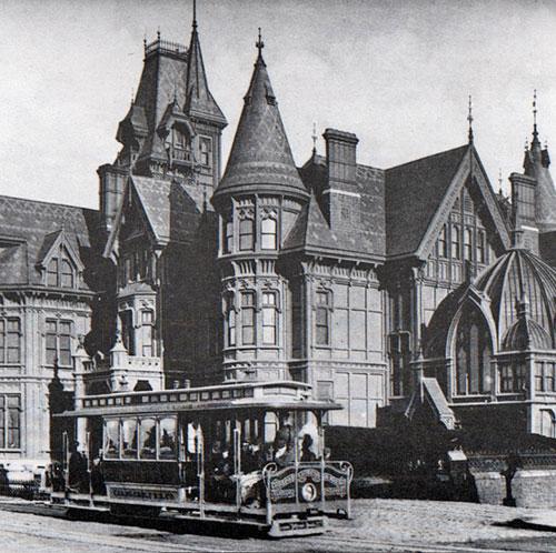 ornate mansion