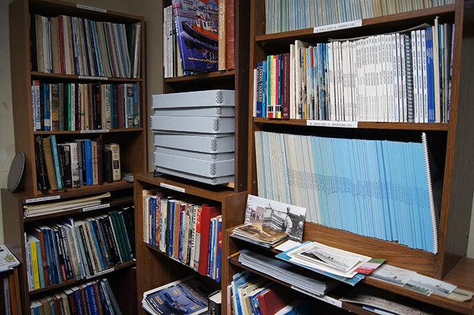 Donald J. Blain Maritime Research Library